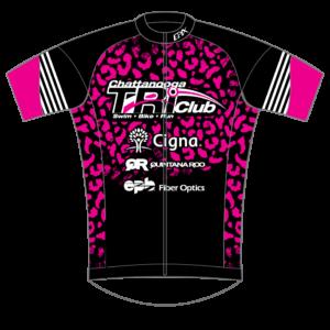 Chatt Tri GoFierce Cycling Jersey PINK