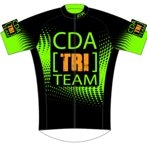 CDA Tri Club Performance Cycling Jersey (Green)
