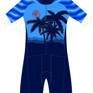 Pursuit Athletic Performance FreeFlyte Short Sleeve 1 Piece Tri Suit