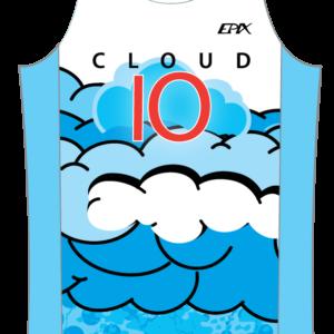 Cloud 10 GoFierce Running Singlet LIGHT DESIGN