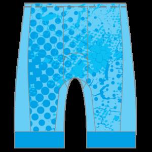 Cloud 10 GoFierce Cycling Shorts (Men's/Women's Waistband) LIGHT DESIGN