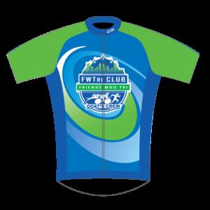 FWTri FreeFlyte Short Sleeve Cycling Jersey