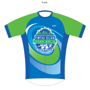 FWTri BaseFlyte Short Sleeve Cycling Jersey