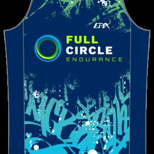 Full Circle Coaching GoFierce Running Singlet