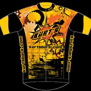 Kurts Bars GoFierce Cycling Jersey