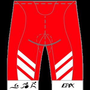 RYE Tri Women's GoFierce Cycling Shorts (Waistband)