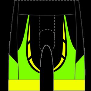Negative Split Men's/Women's GoFierce Cycling Shorts (Waistband)