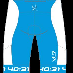 4031 Coaching Men's/Women's GoFierce Tri Shorts (Regular Length) BLUE