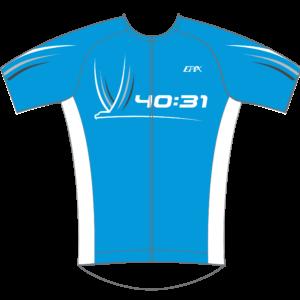4031 Coaching GoFierce Aero Tri Jersey BLUE