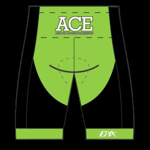 ACE Team Performance Cycling Shorts (Men's/Women's Waistband)