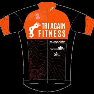 Tri Again GoFierce Cycling Jersey (Orange)