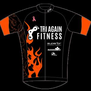 Tri Again GoFierce Cycling Jersey (Black)